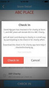CheckInCharity Preview 3