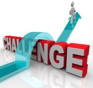 Jumping Over a Challenge to Achieve Success