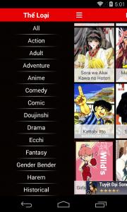 Manga App Preview 5