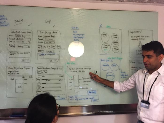 RobustTechHouse at DBS Singapore Hackathon Feb 2015
