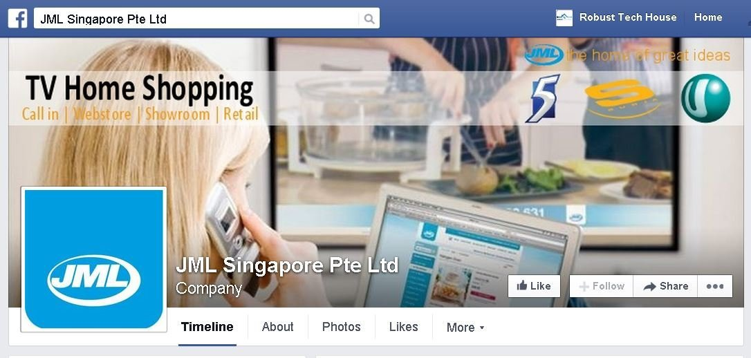 JML Facebook - JML Singapore and JML Malaysia Launch