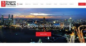 SingaporeFinTechConsortium Landing