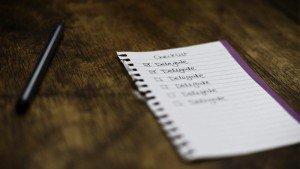Checklist Delegate