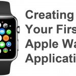 Create first apple watch app