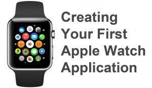Create first apple watch app