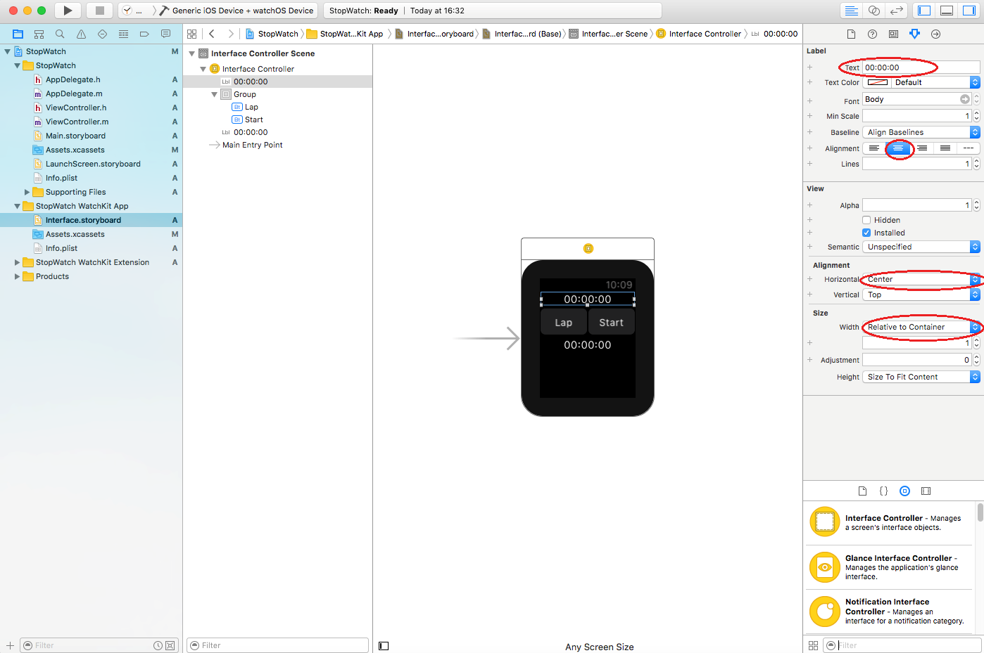 create first apple watch app_03