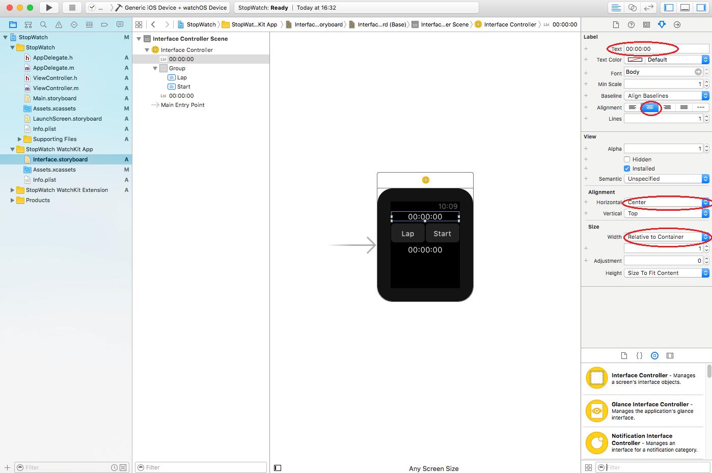 create first apple watch app_03