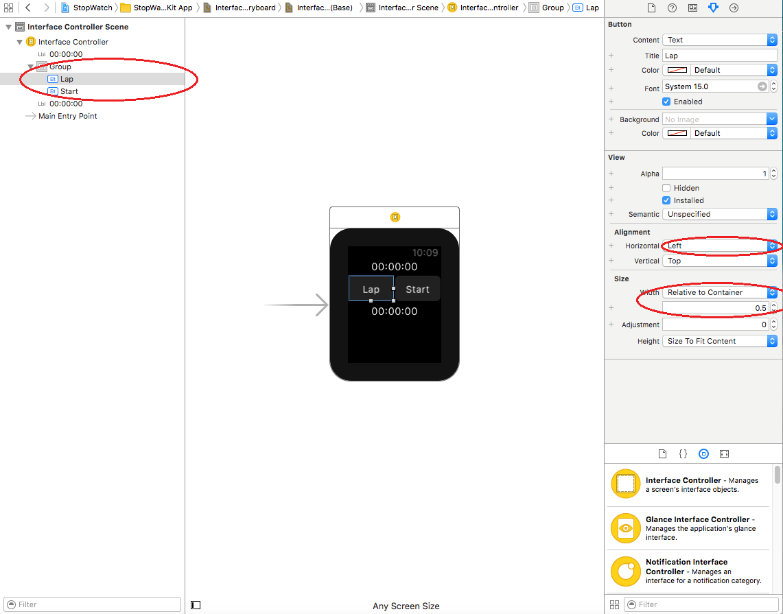 create first apple watch app_04