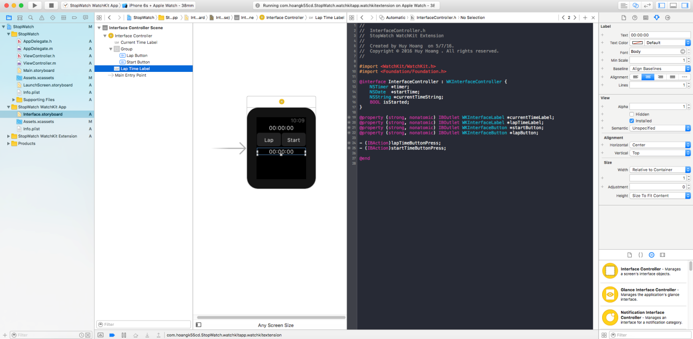 create first apple watch app_05