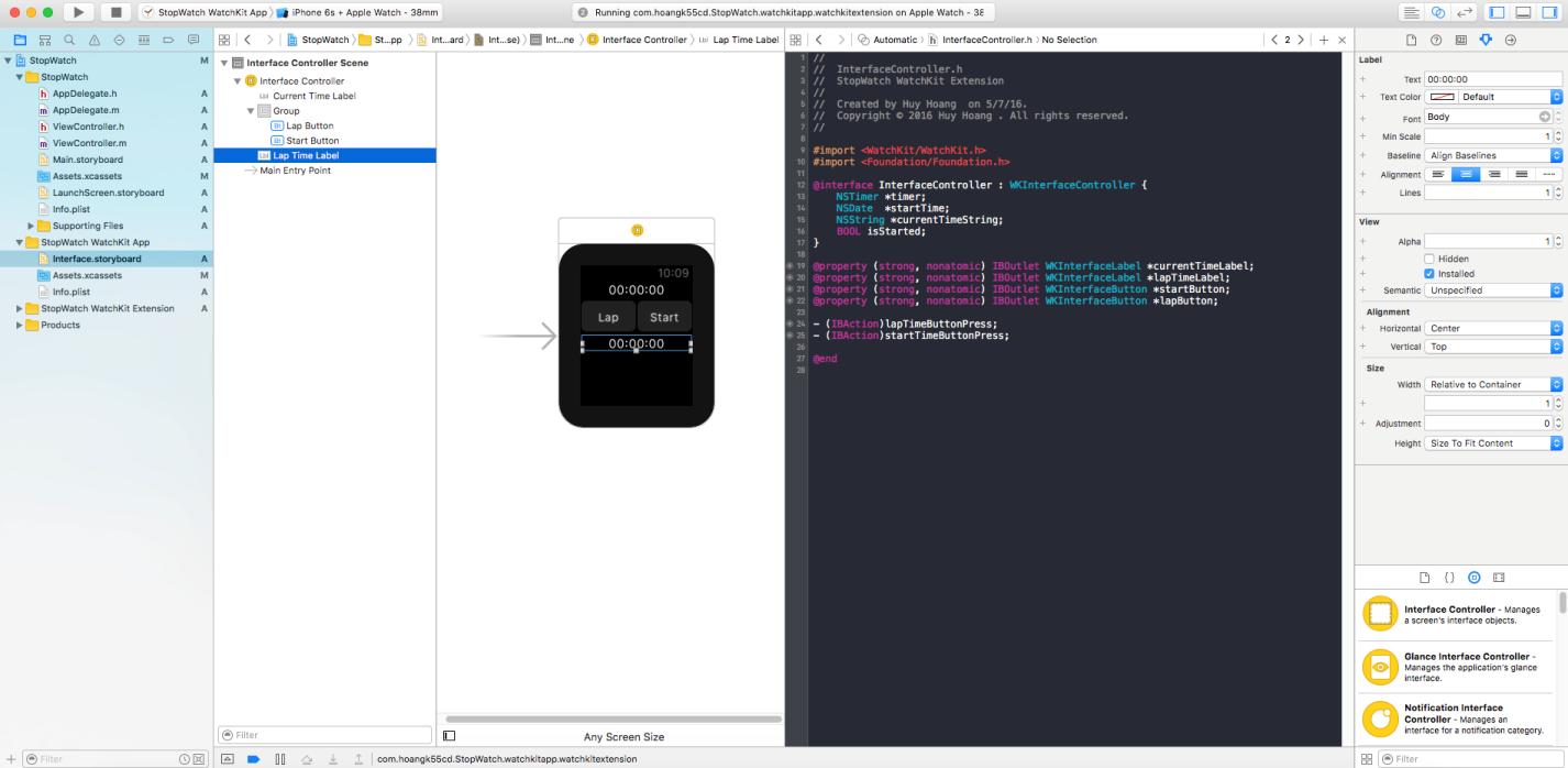 create first apple watch app_05