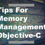 tips for memory management objective-c_Cover