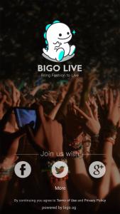 Review of BIGO Live Mobile App_Login
