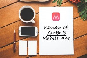 review of airbnb mobile app- cover