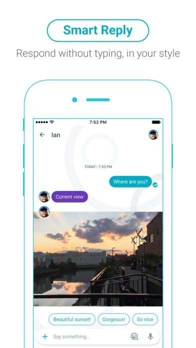 review of allo app_smart reply