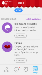 learning a new language is easy with duolingo - additional lessons