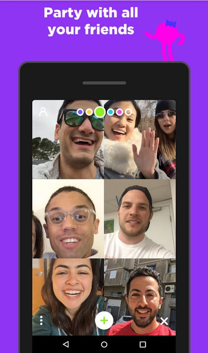 review of houseparty app - real time group chat