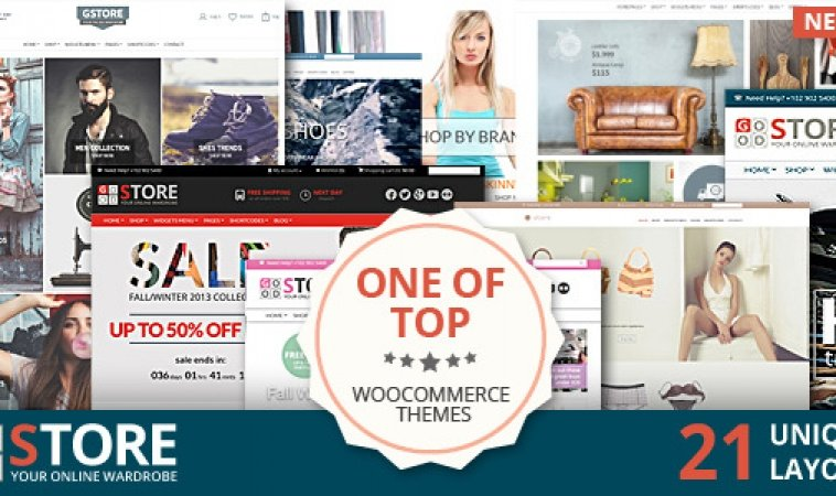 Top 10 Best WooCommerce Ecommerce Themes