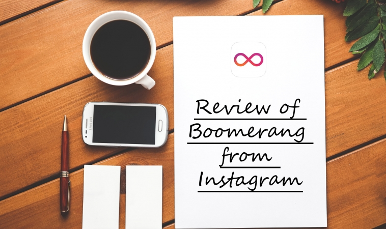 Review of Boomerang from Instagram