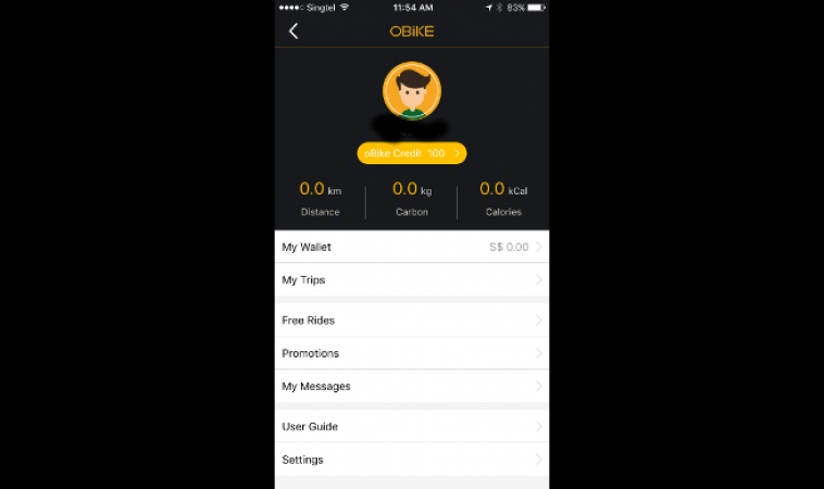 oBike Mobile App Review