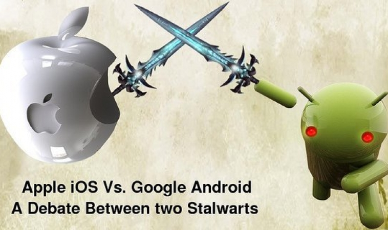 Android Vs iOS Which Platform To Build For First