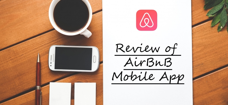 Review of AirBnB Mobile App